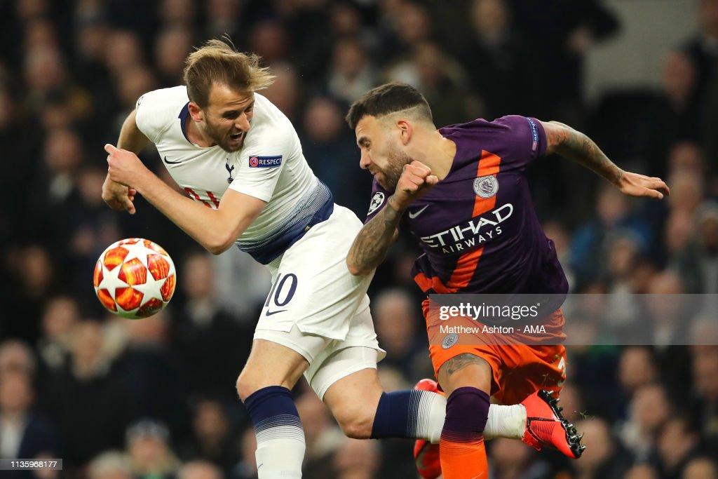 Tottenham Hotspur v Manchester City - UEFA Champions League Quarter Final: First Leg : News Photo