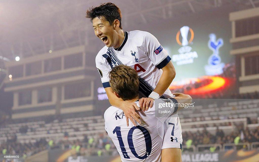 Qarabag FK v Tottenham Hotspur FC - UEFA Europa League : News Photo