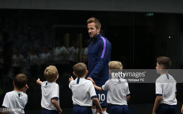 Harry Kane of Tottenham Hotspur in the tunnel during the Premier League match between Tottenham Hotspur and Crystal Palace at Tottenham Hotspur...