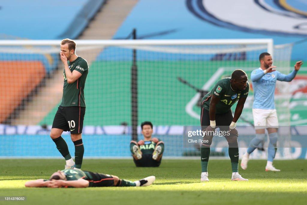 Manchester City v Tottenham Hotspur - Carabao Cup Final : News Photo