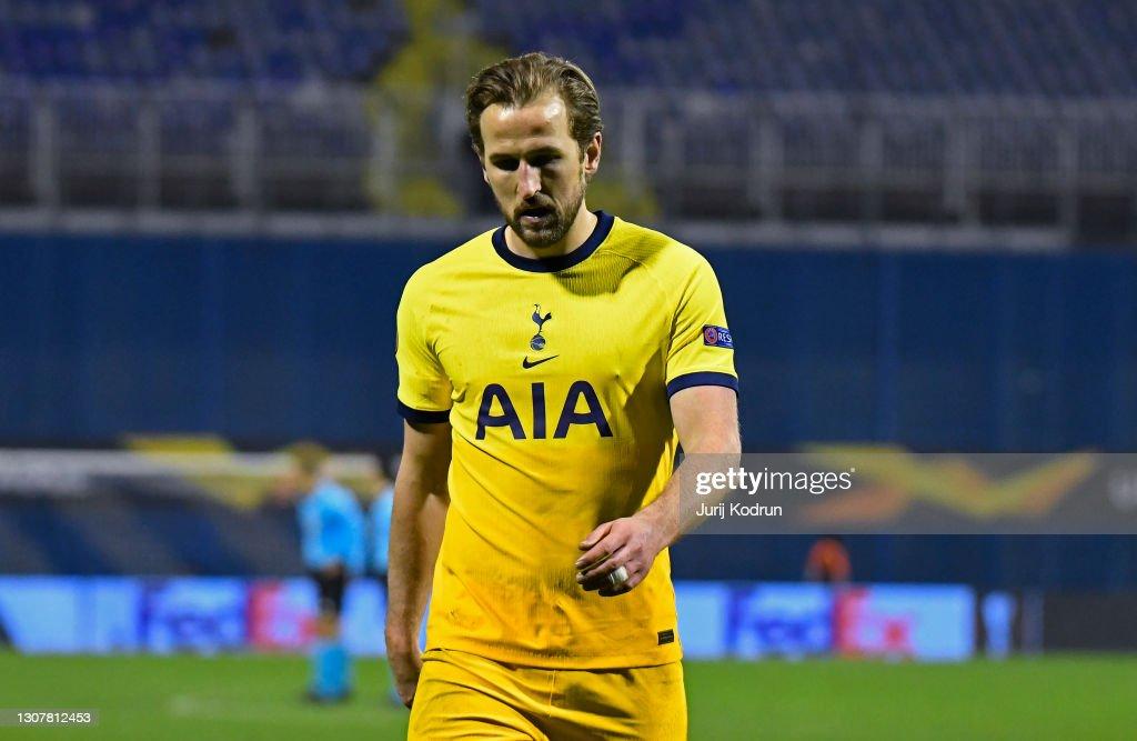 Dinamo Zagreb v Tottenham Hotspur - UEFA Europa League Round Of 16 Leg Two : News Photo