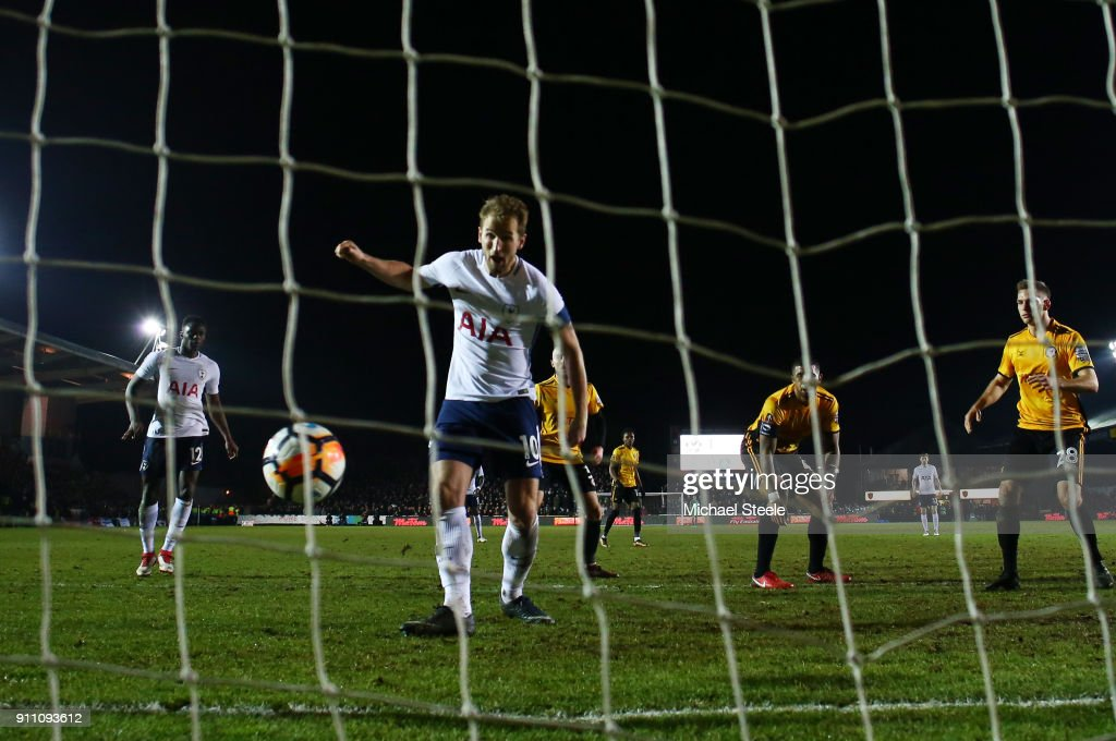 Newport County v Tottenham Hotspur - The Emirates FA Cup Fourth Round : News Photo
