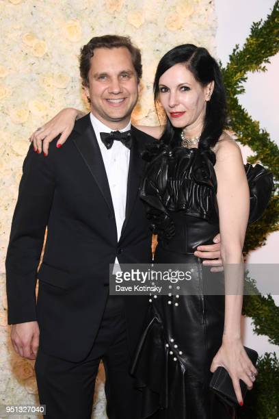 Harry Kargman and Jill Kargman attend the Brooks Brothers Bicentennial Celebration at Jazz At Lincoln Center on April 25 2018 in New York City