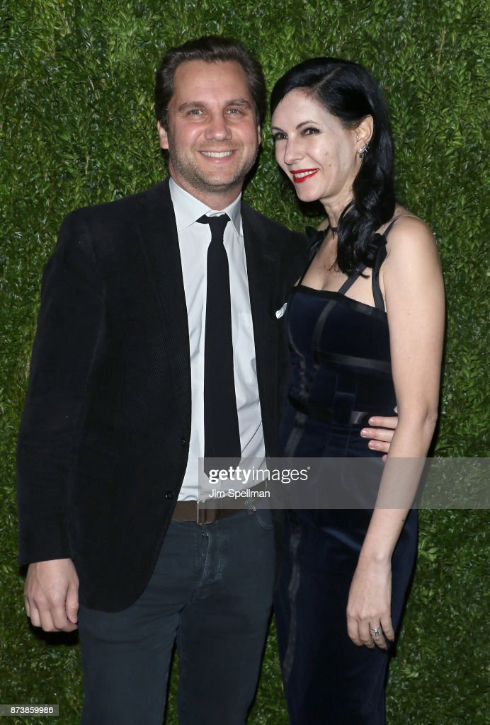 Harry Kargman and writer Jill Kargman attend the 2017 Museum of Modern Art Film Benefit Tribute to Julianne Moore at Museum of Modern Art on November 13, 2017 in New York City.