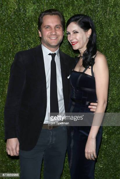Harry Kargman and writer Jill Kargman attend the 2017 Museum of Modern Art Film Benefit Tribute to Julianne Moore at Museum of Modern Art on November...