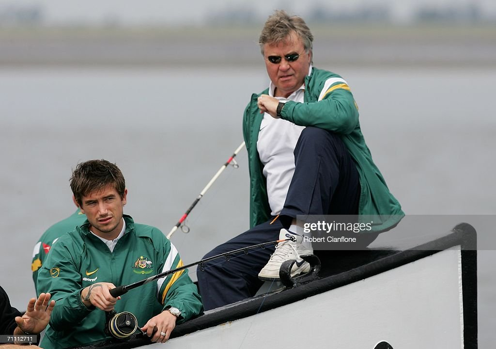 Socceroos Team Fishing : News Photo