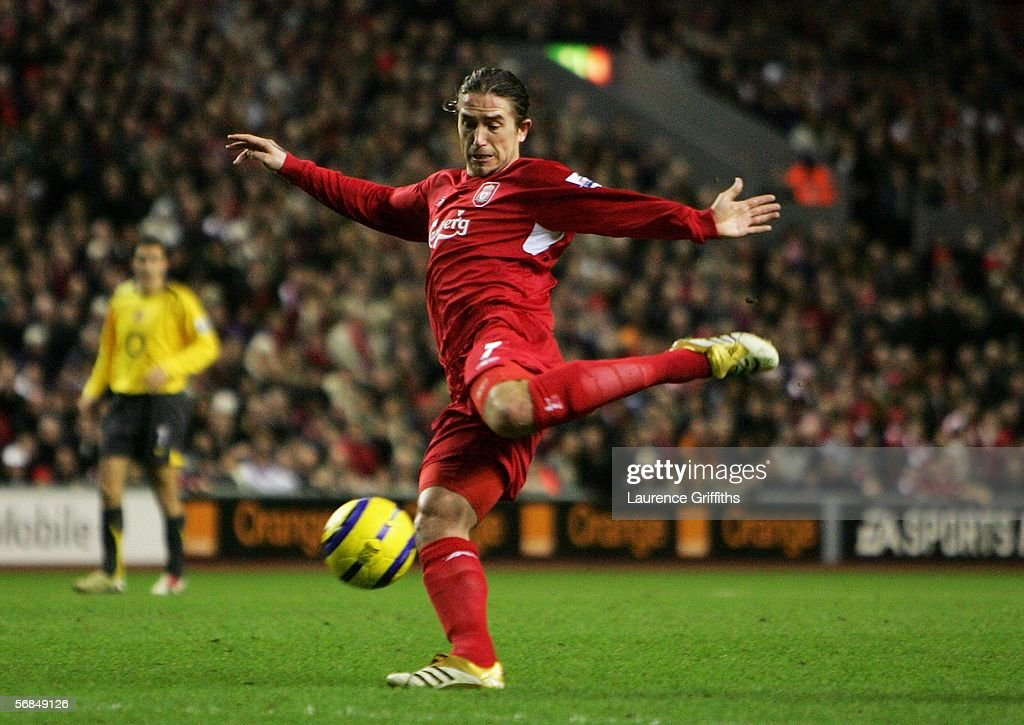 Liverpool v Arsenal : Foto jornalística