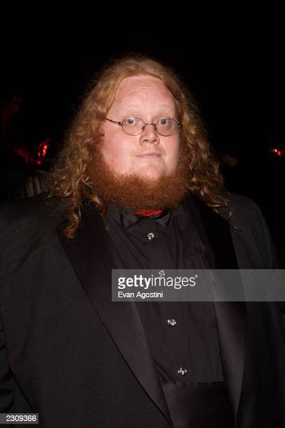 Harry Knowles at the 'Lord Of The Rings' party during the 54th Cannes Film Festival in Cannes France Photo by Evan Agostini/Getty Images