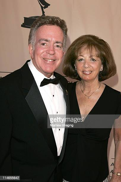 Harry Kooperstein and wife during 57th Annual Los Angeles Area Emmy Awards Arrivals Reception at Leonard H Goldenson Theatre in North Hollywood...
