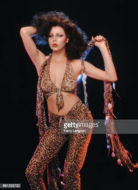 Harry Langdon Fashions Model Jackson Ellene Warren Desgins in 1980 in Los Angeles California