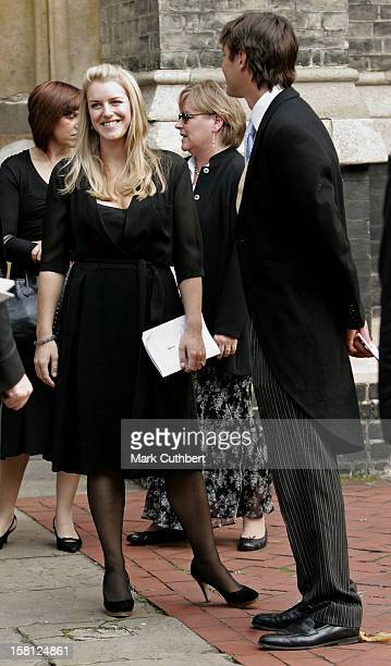 Harry Laura Lopes Attend A Memorial Service For Major Bruce Shand At St Paul'S Church In London'S Knightsbridge
