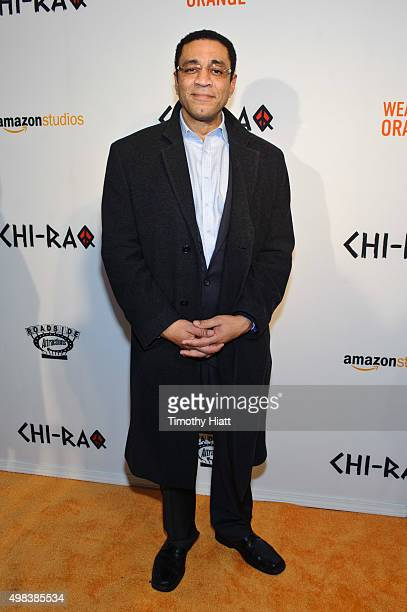 """Harry Lennix attends the world premiere of """"Chi-Raq"""" at The Chicago Theatre on November 22, 2015 in Chicago, Illinois."""