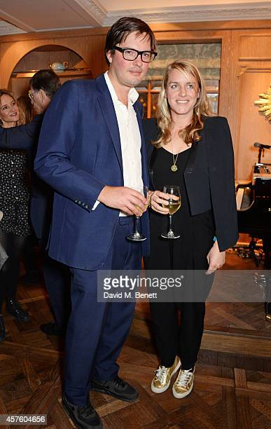 Harry Lopes and Laura Lopes attend Fortnum Mason's Diamond Jubilee Tea Salon for the launch of Tom Parker Bowles' new book Let's Eat Meat at Fortnum...