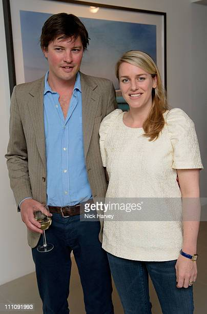 Harry Lopes and Laura Lopes attend private view of exhibition 'Place in Mind' on March 29 2011 in London England