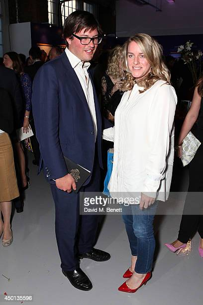 Harry Lopes and Laura Lopes attend the Elephant Family's 'In Giants' Footsteps' launch party at Victoria House on June 5 2014 in London England