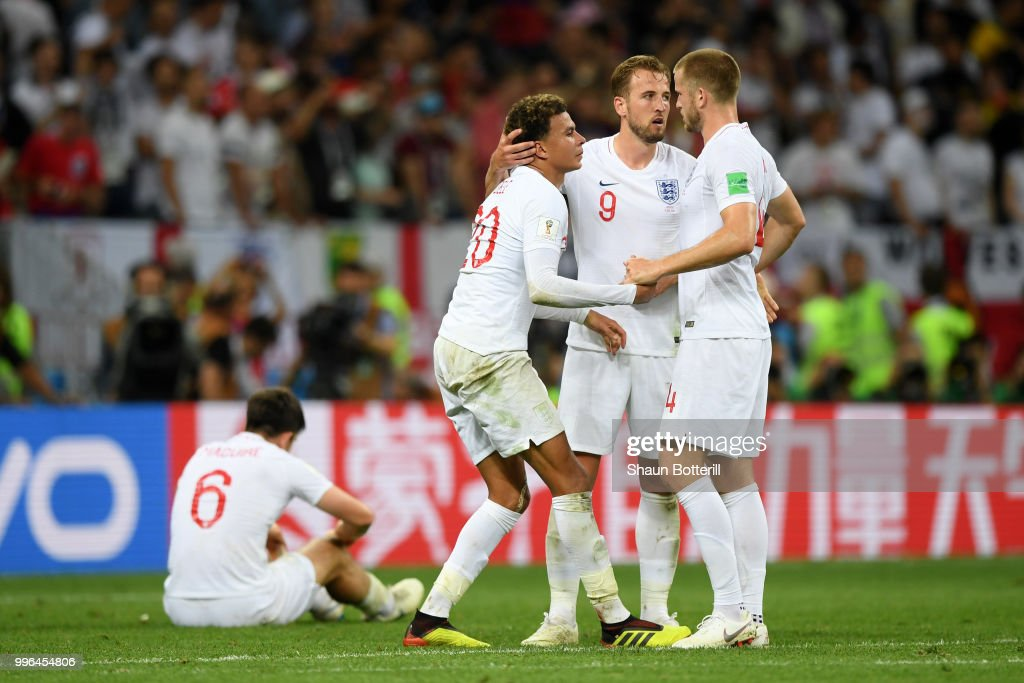 England v Croatia: Semi Final - 2018 FIFA World Cup Russia : News Photo