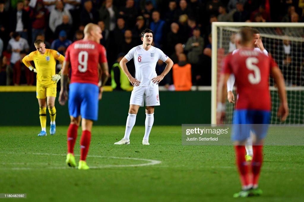 Czech Republic v England - UEFA Euro 2020 Qualifier : News Photo