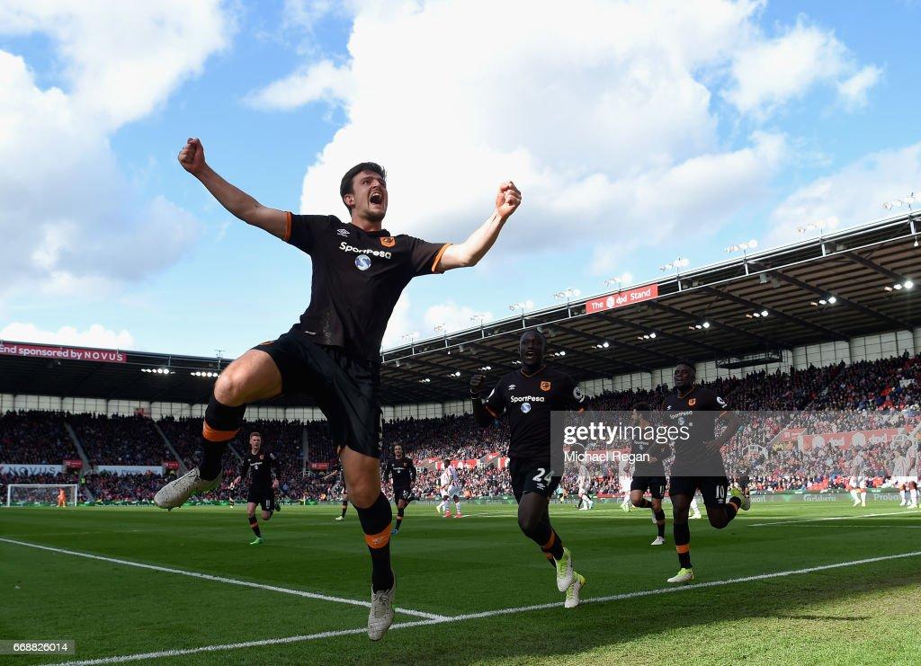Stoke City v Hull City - Premier League : News Photo