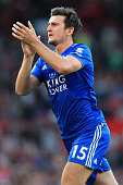 manchester england harry maguire leicester applauds