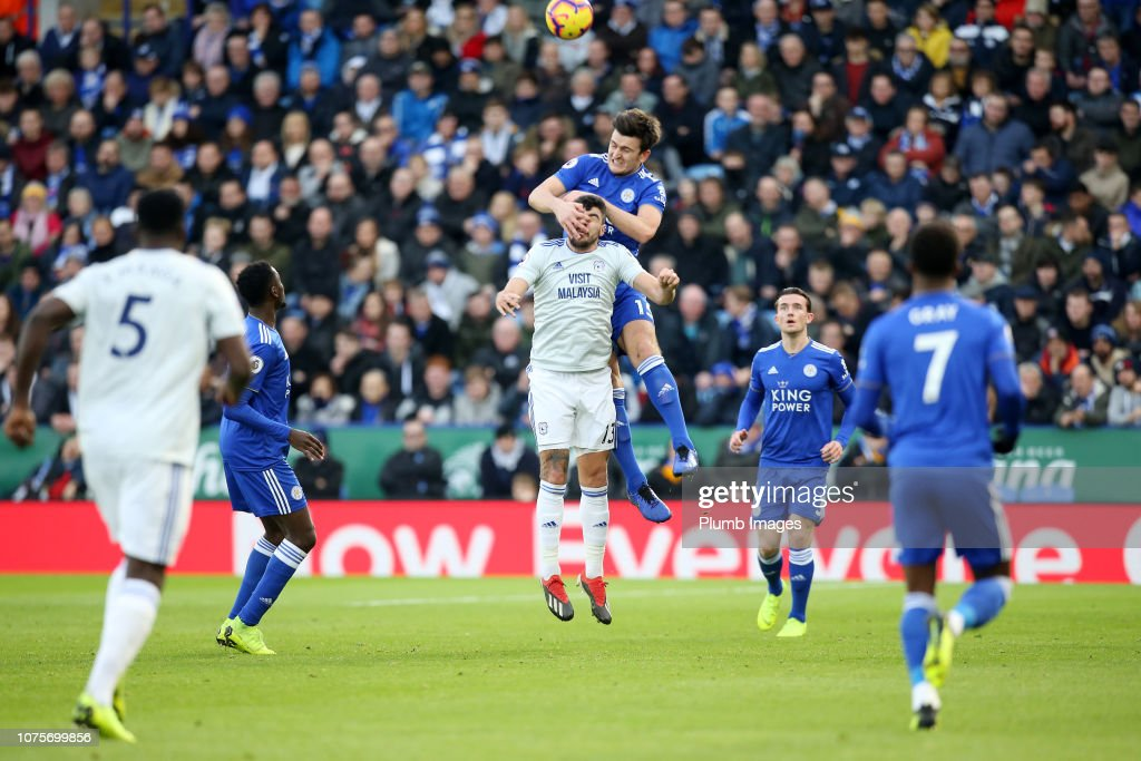 Leicester City v Cardiff City - Premier League : News Photo