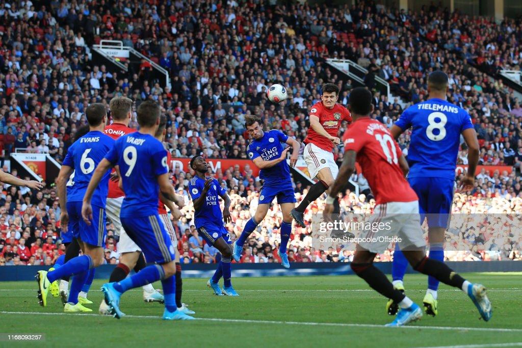 Manchester United v Leicester City - Premier League : ニュース写真