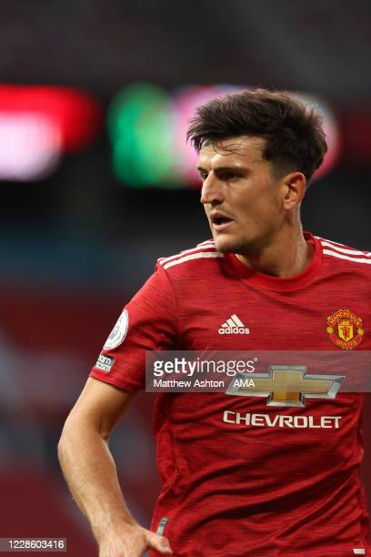 Harry Maguire of Manchester United during the Premier League match between Manchester United and Crystal Palace at Old Trafford on September 19 2020...