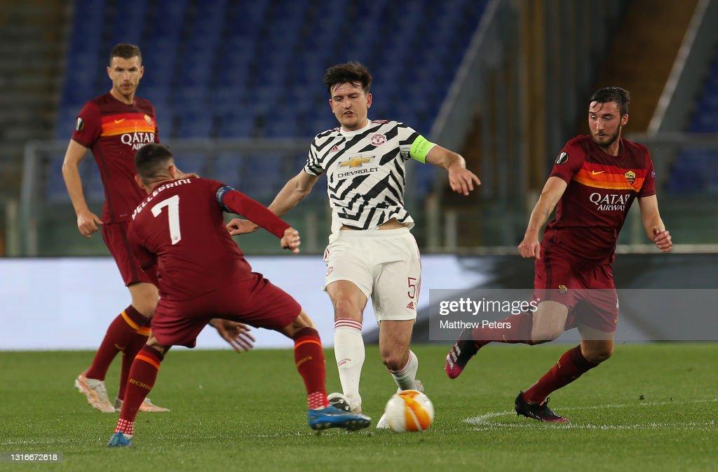 AS Roma v Manchester United - UEFA Europa League Semi Final: Leg Two : Fotografía de noticias