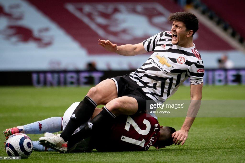 Aston Villa v Manchester United - Premier League : News Photo
