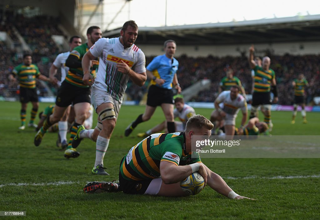 Northampton Saints v Harlequins - Aviva Premiership : News Photo