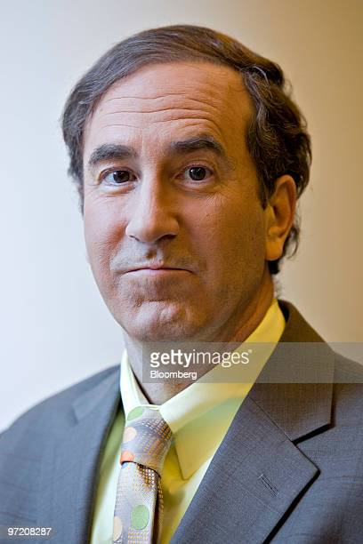 Harry Markopolos an independent financial fraud investigator and former money manager stands for a portrait in New York US on Monday March 1 2010...