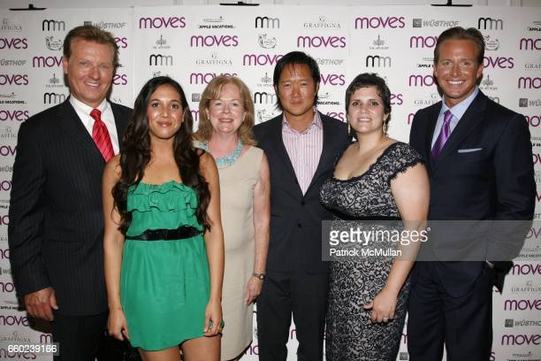 Harry Martin Leah Cohen Susan Ungaro Arthur Chi'en Mina Newman and Chris Wragge attend MOVES Magazine presents the 2009 Design Issue at The Apthorp...