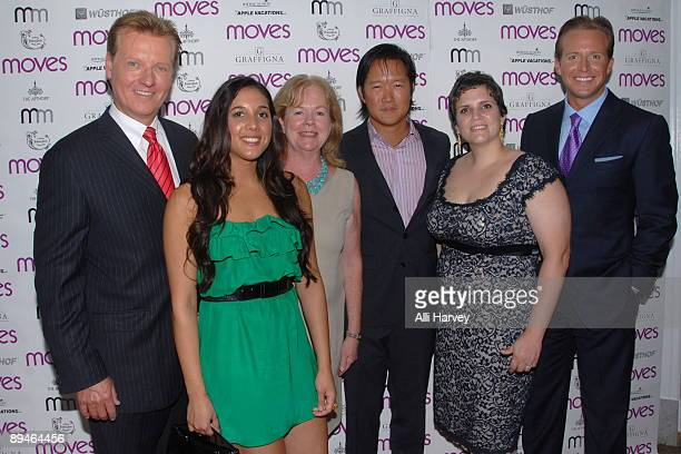 Harry Martin Leah Cohen Susan Ungaro Arthur Chi'en Mina Newman and Chris Wragge attend New York Moves 2009 Design Issue celebration at The Apthorp on...