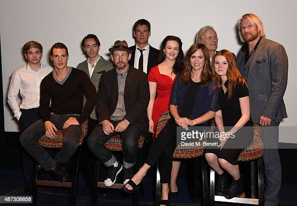Harry McEntire Alexander Dreymon David Dawson Ian Hart Adrian Bower Eliza Butterworth Emily Cox Rutger Hauer Amy Wren and Rune Temte attend a...