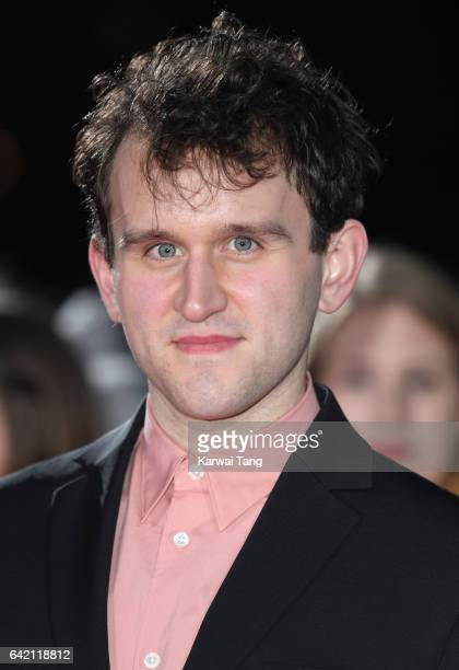 """Harry Melling arrives at the UK premiere of """"The Lost City of Z"""" at the British Museum on February 16, 2017 in London, United Kingdom."""