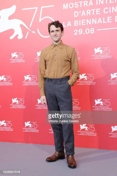 Harry Melling attends 'The Ballad of Buster Scruggs' photocall during the 75th Venice Film Festival at Sala Casino on August 31, 2018 in Venice,...