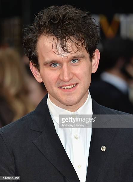 Harry Melling attends The Olivier Awards with Mastercard at The Royal Opera House on April 3, 2016 in London, England.