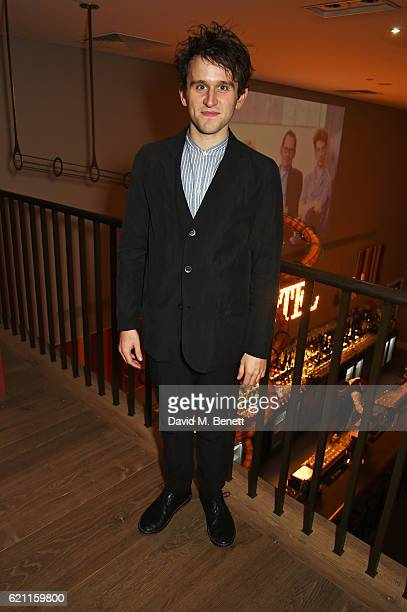 Harry Melling attends the press night after party celebrating The Old Vic's production of King Lear at the Ham Yard Hotel on November 4 2016 in...