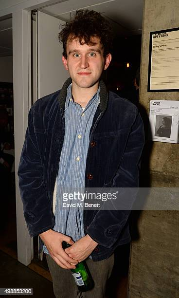 """Harry Melling attends the press night after party for """"Little Eyolf"""" at The Almeida Theatre on November 26, 2015 in London, England."""