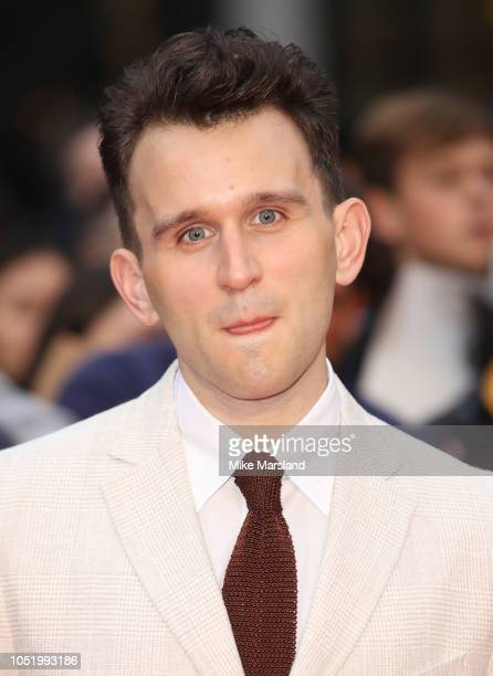 """Harry Melling attends the UK Premiere of """"The Ballad of Buster Scruggs"""" & the American Airlines Gala during the 62nd BFI London Film Festival on..."""