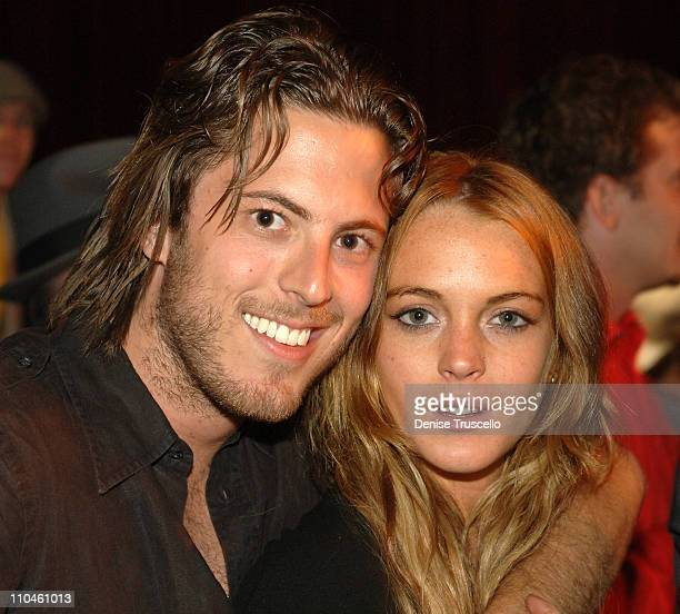 Harry Morton and Lindsay Lohan during Beachers Madhouse Final Show July 29 2006 at The Joint at The Hard Rock Hotel and Casino Resort at The Joint at...