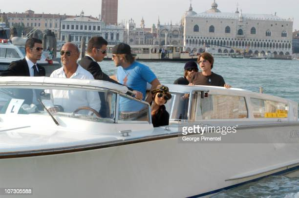 Harry Morton and Lindsay Lohan during The 63rd International Venice Film Festival Lindsay Lohan Arrives in Venice in Venice Italy