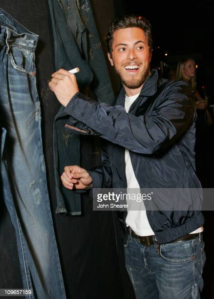 Harry Morton during Genetic Denim's OneYear Anniversary and the Launch of Their ReVamped Collection Red Carpet at Area in Los Angeles California...