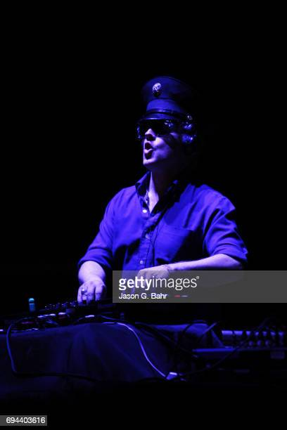 Harry of Boombox performs at Red Rocks Amphitheatre on June 9 2017 in Morrison Colorado