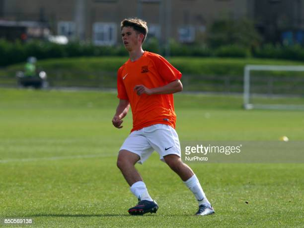 Harry Phillips of Southend United during Central League Cup match between Barnet Under 23s and Southend United Under 23s at Barnet Training Ground...
