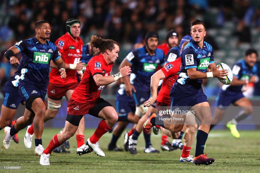 Super Rugby Rd 4 - Blues v Sunwolves : News Photo