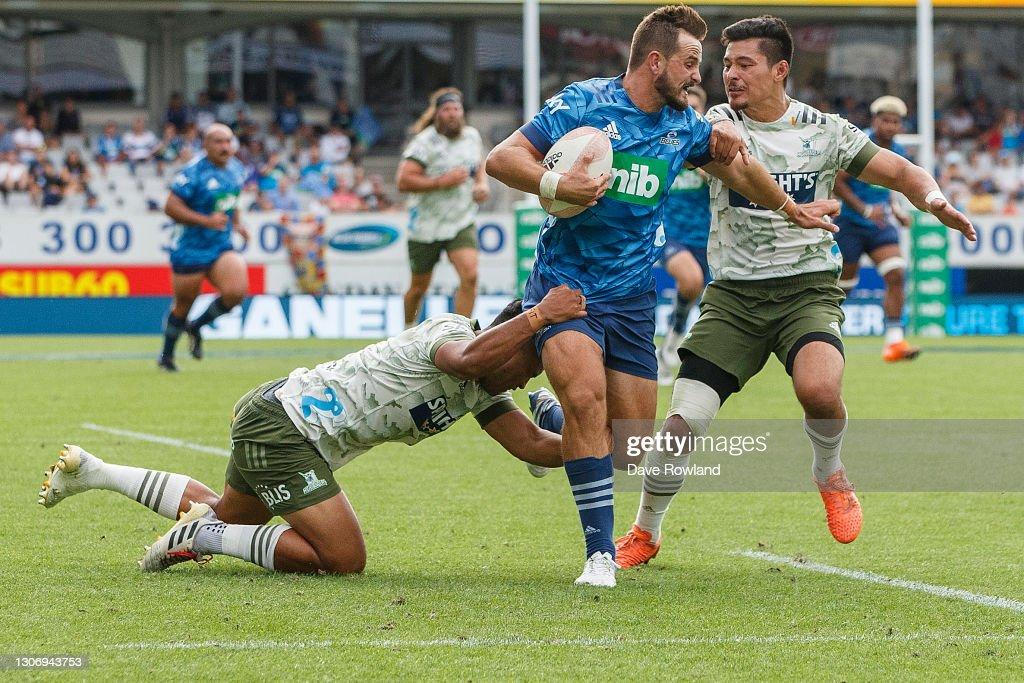 Super Rugby Aotearoa Rd 3 - Blues v Highlanders : News Photo