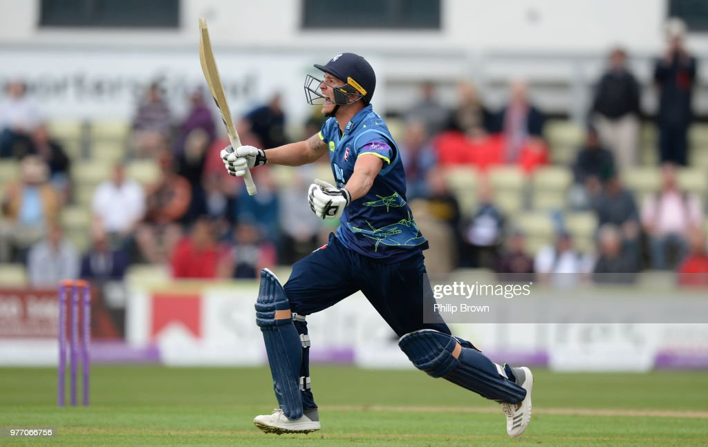 Worcestershire Rapids v Kent - Royal London One-Day Cup Semi Final