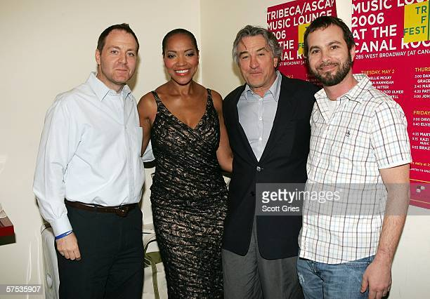 Harry Poloner American Society of Composers Authors and Publishers Vice President Grace Hightower De Niro Robert De Niro and Tom DeSavia ASCAP Senior...