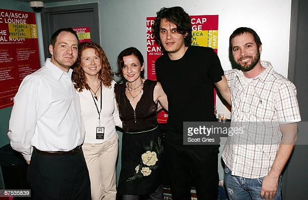 Harry Poloner ASCAP Vice President Sue Devine ASCAP Senior Director musician Patty Griffin musician John Mayer and Tom DeSavia Senior Vice President...