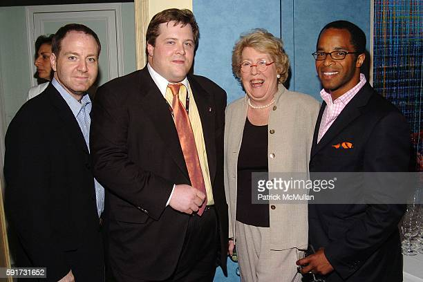 Harry Poloner Scott Schiff Linda Schiff Jonathan Capehart== ASHLEY SCHIFF hosts a book party for WENDY BOUNDS' new book Little Chapel on the River...